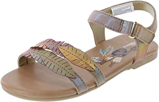 Disney Girl's Moana Fashion Sandal - Multicolor
