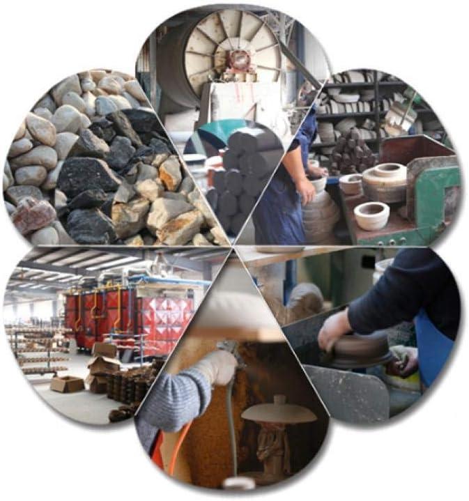 LIUSHI Casserole en Argile Pot de Cuisson en Argile Marmite en Argile - Soudain Froid et Chaud sans craqueler, purement Fait à la Main-6.2L 10.5l