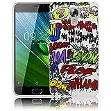 thematys Passend für Acer Liquid Z6 Plus Comic Haha Silikon Schutz-Hülle weiche Tasche Cover Hülle Bumper Etui Flip Smartphone Handy Backcover Schutzhülle Handyhülle