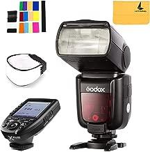 Godox TT685N 2.4GHz High Speed 1/8000s GN60 TTL Camera Flash for Nikon Cameras I-TTL II Autoflash,Godox XPro-N Flash Trigger with Professional Functions Support i-TTL Autoflash for Nikon DSLR Camera