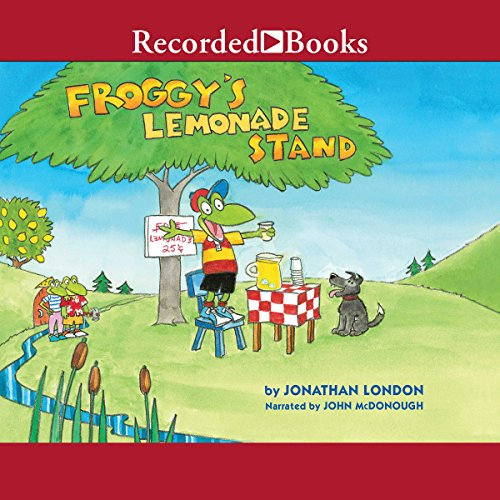 Froggy's Lemonade Stand audiobook cover art