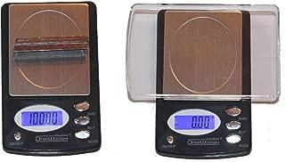 100/0.01g Digital Pocket Scale Gram, Ounce, Carat, Grain + 5 Gram Gold Test Bar Christmas Xmas Present Gifts Hanukkah Kwanzaa Black Friday Cyber Monday