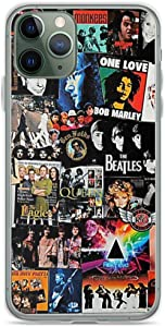 Rock Collage Phone Case Compatible with iPhone 6 6s 7 8 Plus X Xs Xr 11 Pro Max Samsung Galaxy Note S9 S10 S20 Plus