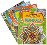 Amazon Brand - Solimo Copy Colouring Books for Adults (Set of 4)