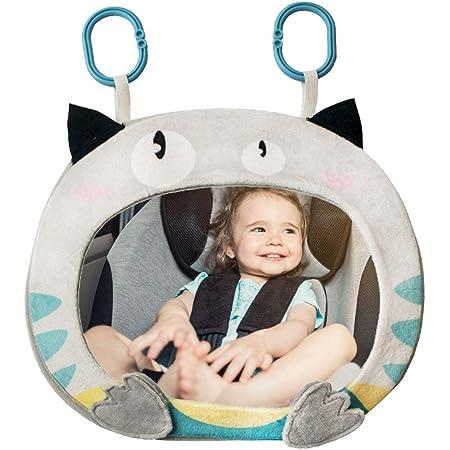 Cartoon Tier Rückspiegel Baby Spiegel Auto Baby Verstellbarer Rücksitz Bruchsicher Mit Klingel Biene Baby