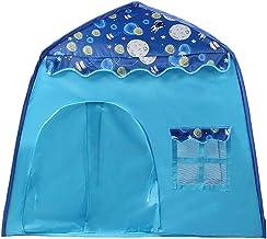 Princess slott lektält barn tipi tält barnhus för inomhus utomhus bärbar barntält födelsedagspresent