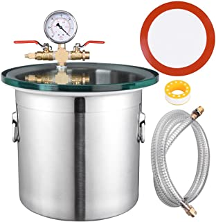 Yescom 3 Gallon Stainless Steel Vacuum Chamber kit to Degass Urethanes Silicones Epoxies