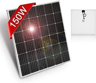 Panel Solar 150W Monocristalino 12V Módulo solar para casas jardines caravanas bombas