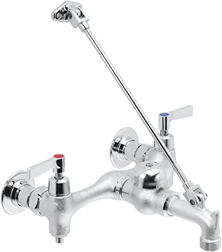 Speakman SC-5812-RCP Commander Service, Rough Chrome-Plated Utility Sink Faucet