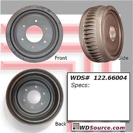 Centric Parts Brake Drum P//N:122.65040