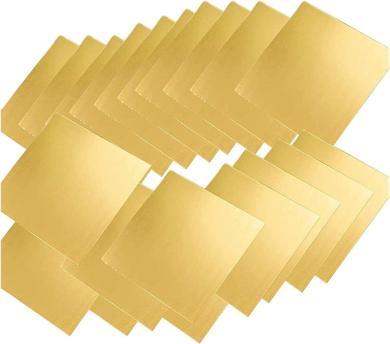 Wzqwzj Brass Metal Boston Mall Sheet 35Mmx50mmx0.8Mm 70% OFF Outlet Copper 20Pcs Shee Pure
