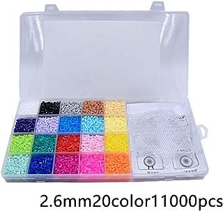 szyzl88 11000Pcs Hama Bead,2.6Mm Beads and Pearl Ensamblado