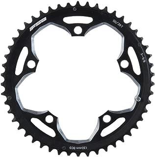 FSA Pro Road 50T/130mm Triple S-9 Road Bicycle Chainring - 370-0150C, Black