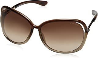 Tom Ford Raquel FT0076 Sunglasses-38F Bronze (Gradient Brown Lens)-63mm