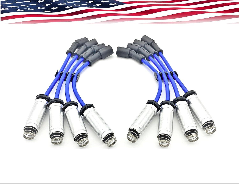 Spark Under blast sales Plug Wire Set for half Yukon Sierra Chevrolet Silverado Express