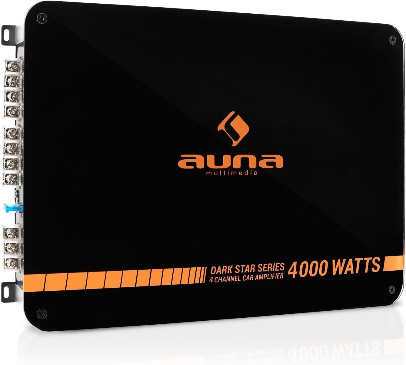Auna Dark Star 4000 Auto Endstufe Mit 400 W Rms Elektronik