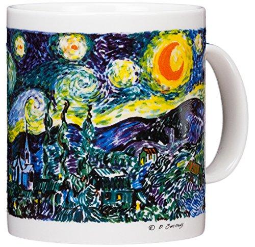 Vincent Van Gogh - The Starry Night - 14oz Coffee Mug