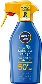 Nivea Sun Zonnespray met verbeterde formule voor kinderen, beschermingsfactor 50+, 300 ml spuitfles, kinderbescherming en ...