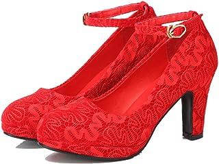 a basso prezzo 3f72c e804a Amazon.it: rosse basse - Mary Jane basse / Scarpe da donna ...