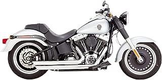 Vance & Hines 88-17 Harley FLSTC Big Shots Staggered Exhaust (Chrome)