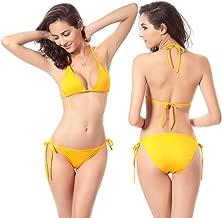 Women Sexy Halter Swimsuit Swimwear Bikini Set Bathing Suit Beachwear,Free Size