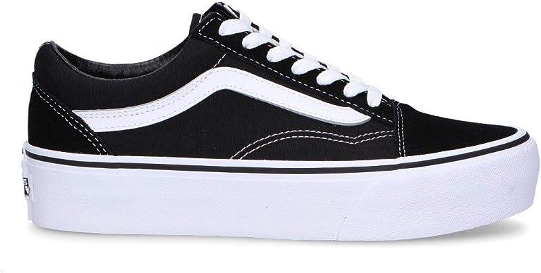 Amazon.com: Vans Luxury Fashion Woman VN0A3B3UY28 Zapatillas de ...