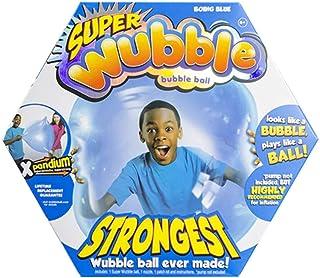 وبل ببل كرة كبيرة قابلة للنفخ على شكل فقاعة للاطفال ، ازرق
