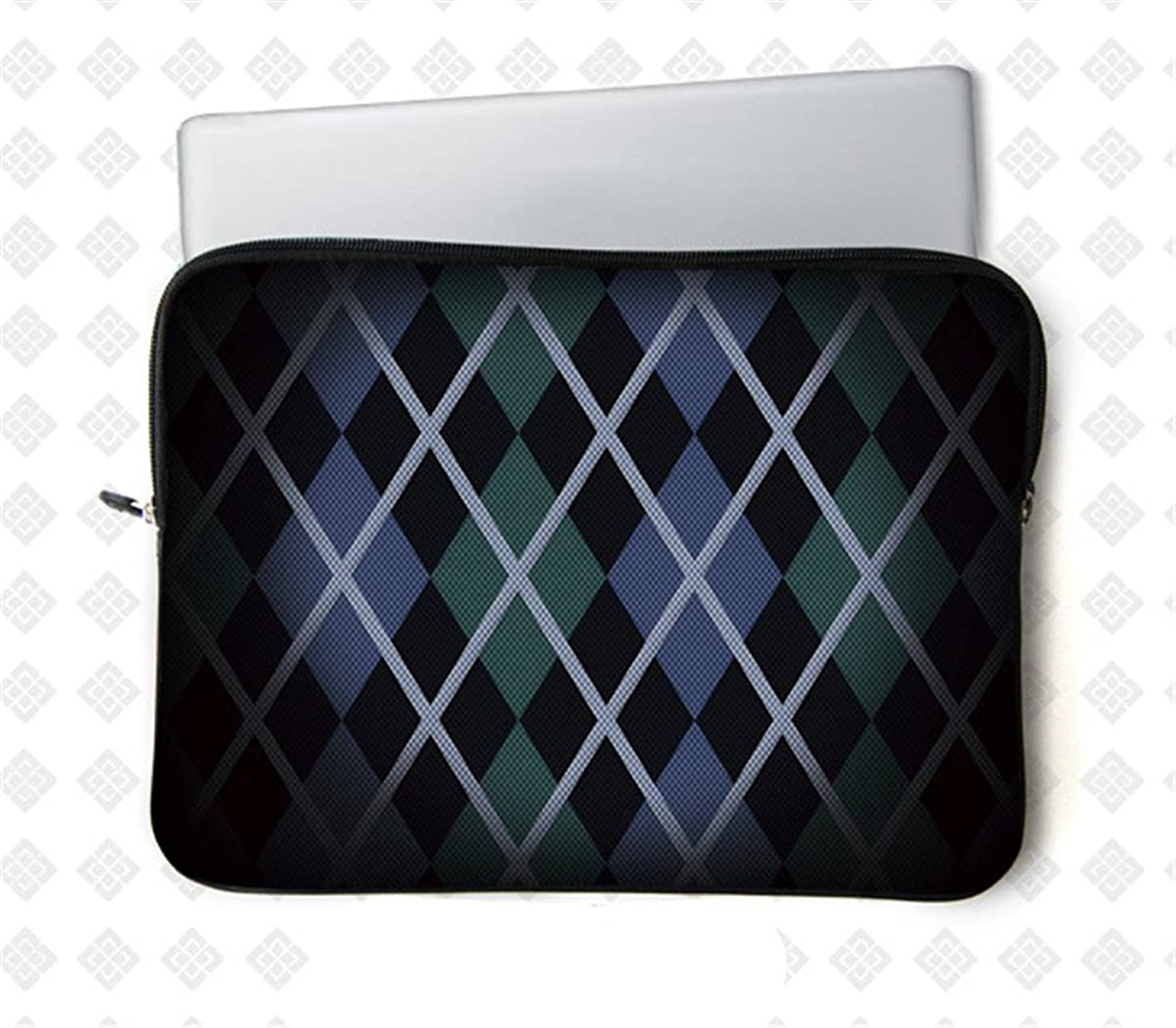 Fashion Ultra-light Waterproof Anti-Shock Neoprene Unique style 9.7 10.1 10.6 inch Netbook/ipad/iPad air/Laptop/Computer Briefcase Pouch Sleeve bag Carrying Case Cover Tote bags(Geometric)