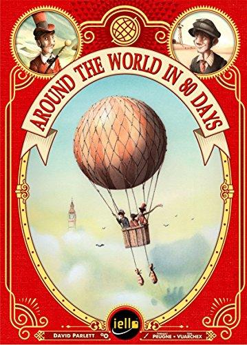 Unbekannt Iello 51340 Around The World in 80 Days - Juego de Cartas (en inglés)