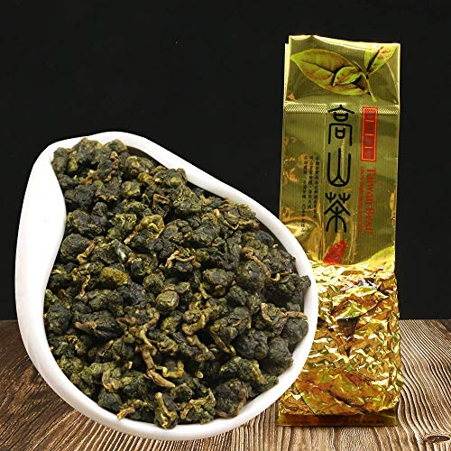 FullChea - Gaoshan Oolong - Formosa Oolong Tea Loose Leaf - Taiwan High Mountain Tea - Weight Loose Tea 5.29oz / 150g