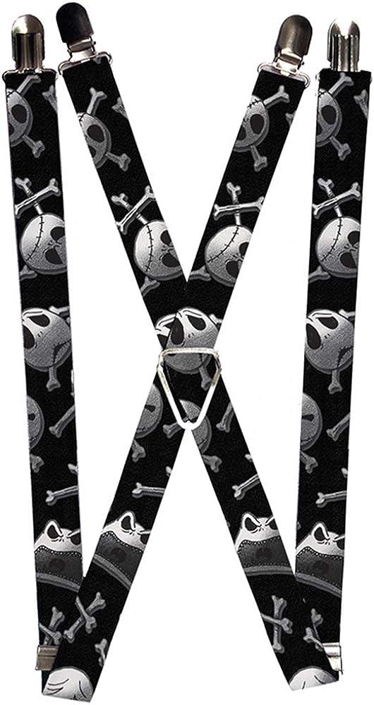 Buckle-Down Suspenders-Nightmare Before Christmas Jack Skull & Crossbo