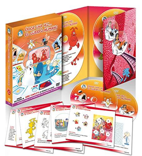 Érase Una vez el Cuerpo Humano 6 DVDs Serie Remasterizada