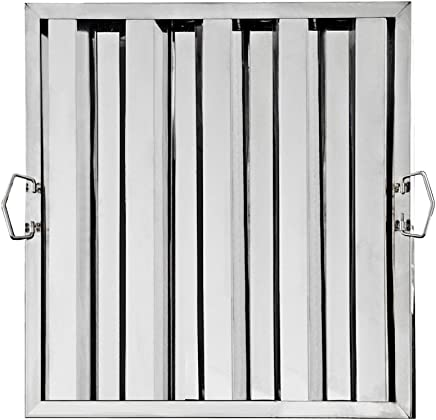 Set of 6 New Star Foodservice Inc. New Star Foodservice 54408 S//S Hood Filter 20 W x 25 H