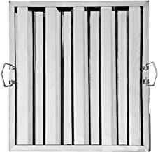 New Star Foodservice 54378 S/S Hood Filter 20