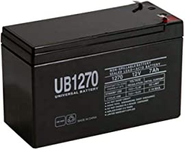 Universal Power Group 12V 7AH Replacement Battery for Nightsearcher NS750 LED + 12V 1Amp Charger