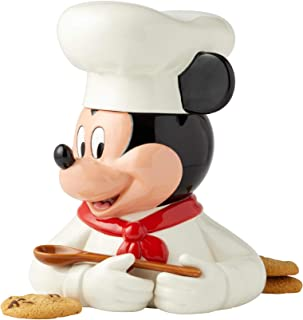 Enesco Disney Ceramics Chef Mickey Cookie Jar