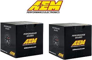 AEM Electronics COMBO X-Series AFR Wideband Sensor Controller Gauge & Boost Pressure Display Gauge