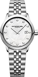 Raymond Weil - Mujer 5629-ST-97081 Freelancer Reloj de cuarzo analógico para mujer