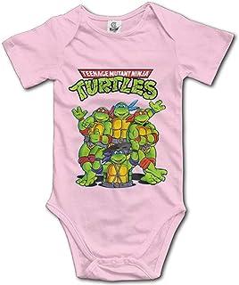 Dezzert030 Teenage Mutant Ninja Turtles Unisex-Kurzarmset für Babys