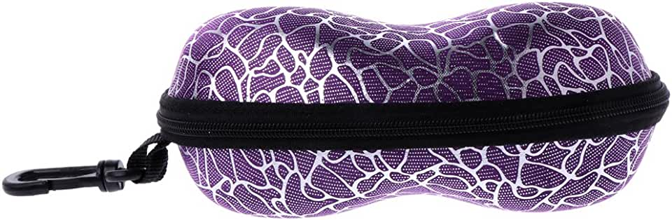 Zippered Hard Sunglasses Case Outdoor Sport Glasses Case Pouch Bag