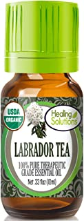 Organic Labrador Tea Essential Oil (100% Pure - USDA Certified Organic) Best Therapeutic Grade Essential Oil - 10ml