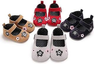 Khaki 10.5cm Infant Baby Shoes Kid Girl Boy Rabbit Monkey Print Soft Sole Prewalker Toddler Shoes for Indoor Outdoor Light Sports