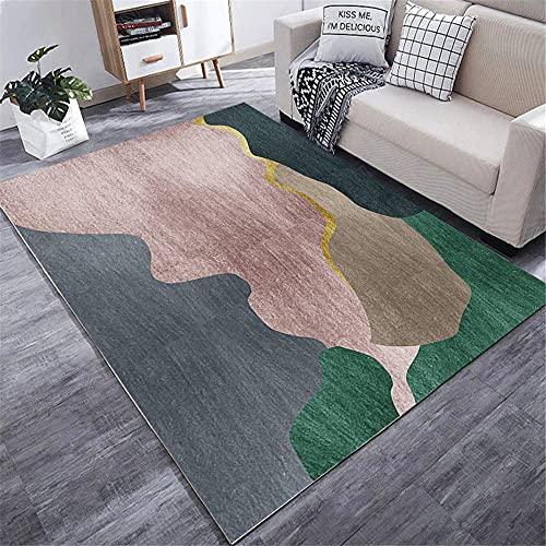 La alfombras Suelo Radiante electrico Fácil Limpieza El diseño de Tinta Azul...