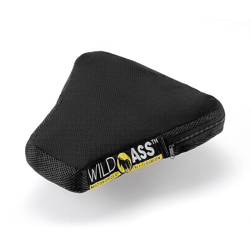 広大な闘争練習ワイルドアス ツーリング時の尻痛腰痛解消シートクッション ライトユーザー?中型バイク向け スポーツライト/WILDASS SPORT LITE