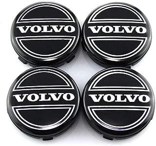 Carsore Set of 4 - Volvo Wheel Center Caps Emblem, 64mm /2.42
