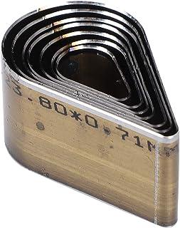 7 pièces Moule de poinçonnage en Cuir 20-50mm Un Trou Creux Goutte Forme Bricolage Artisanat Outil pour Sangle Sac Ceintur...