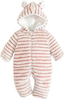 e2ed47677485 Baby Mangka Toddler Baby Girls Boys Snowsuit Bunting Fleece Winter Romper