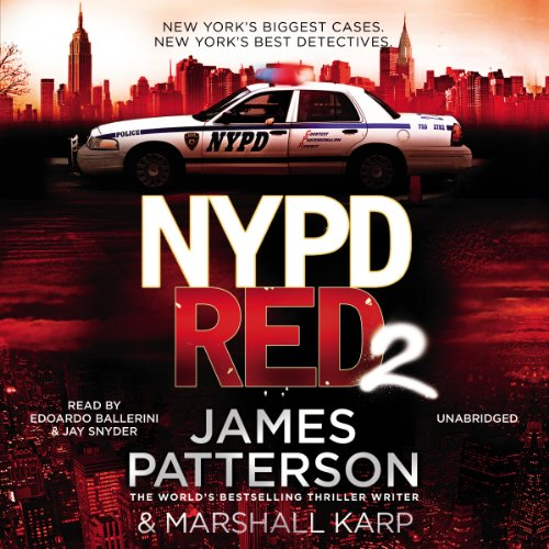 NYPD Red 2 audiobook cover art