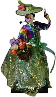 Kylin Express Beautiful Oriental Doll Korean Doll Furnishing Articles, No.2