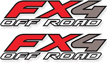 FX4 Off Road Decal Replacement Sticker | Ford F 150 | Bedside Off Road Emblem for 4x4 Truck Super Duty F250 F350 F450 - F (1997-2010)